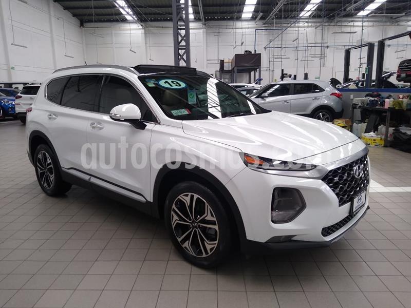 Hyundai Santa Fe Sport 2.0L usado (2019) color Blanco precio $595,000