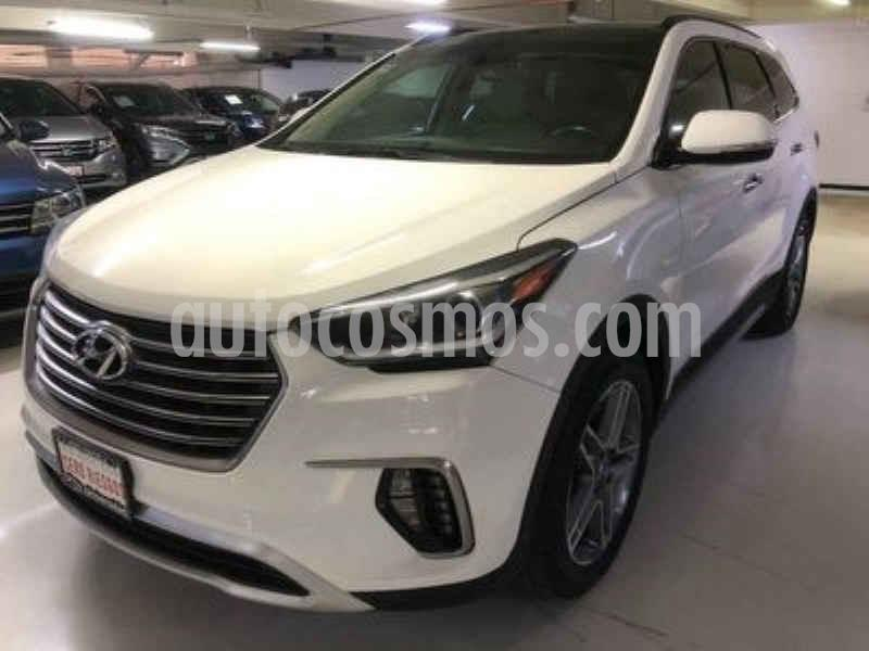 Hyundai Santa Fe V6 Limited Tech usado (2018) color Blanco precio $479,100