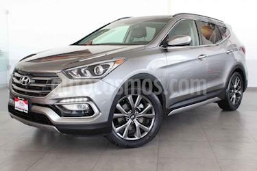 Hyundai Santa Fe 5p Sport L4/2.0/T Aut usado (2017) color Gris precio $378,000
