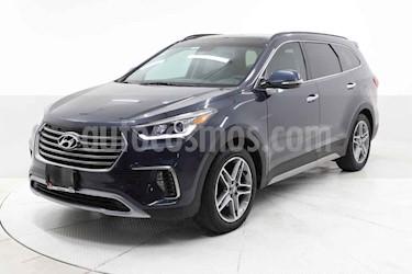 Hyundai Santa Fe 5p Limited L4/2.0 Aut usado (2018) color Gris precio $449,000