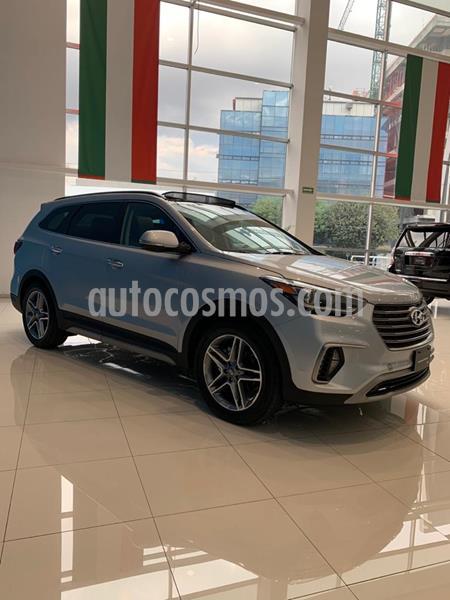 Hyundai Santa Fe V6 Limited Tech usado (2019) color Plata precio $597,000