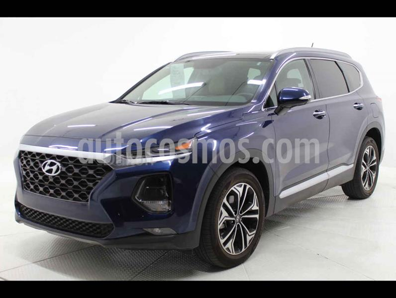 Hyundai Santa Fe V6 Limited Tech usado (2019) color Azul precio $579,000