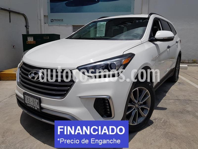 Hyundai Santa Fe V6 GLS Premium usado (2019) color Blanco precio $109,000