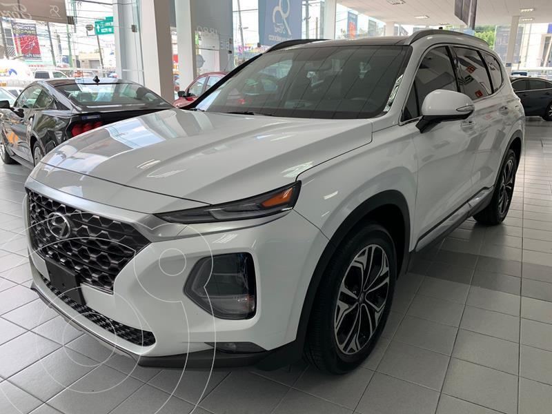 Hyundai Santa Fe V6 Limited Tech usado (2020) color Blanco precio $569,000