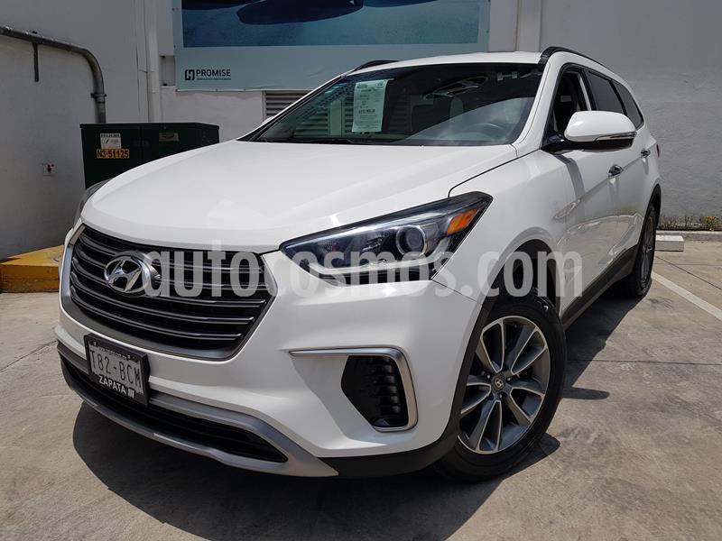 Foto Hyundai Santa Fe V6 GLS Premium usado (2019) color Blanco precio $435,000