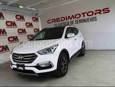 Hyundai Santa Fe Sport 2.0L Turbo usado (2017) color Blanco precio $339,000