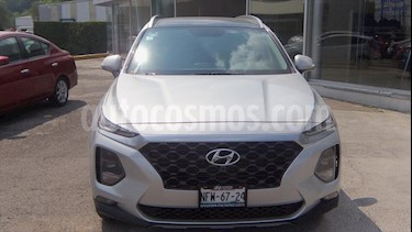 Hyundai Santa Fe 2.0L Turbo Limited Tech usado (2019) color Plata precio $510,000