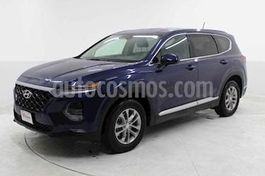 Hyundai Santa Fe Sport 2.0L usado (2019) color Azul precio $459,000
