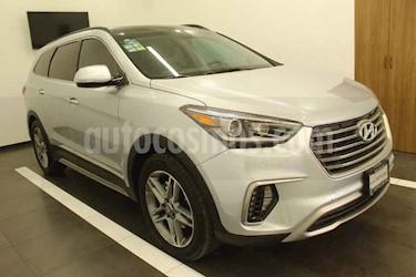 Hyundai Santa Fe V6 Limited Tech usado (2018) color Plata precio $449,000