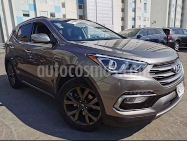 Hyundai Santa Fe 5p Sport L4/2.0/T Aut usado (2017) color Cafe precio $340,000