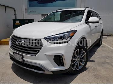 Hyundai Santa Fe 2.0L Turbo GLS usado (2019) color Blanco precio $495,900