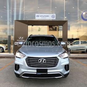 Hyundai Santa Fe V6 GLS Premium usado (2018) color Plata precio $450,000