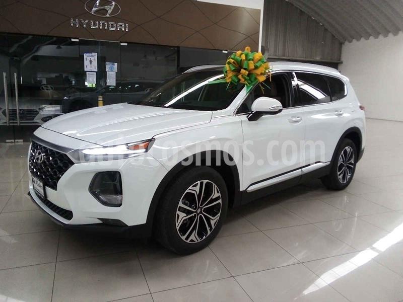 Hyundai Santa Fe V6 Limited Tech usado (2020) color Blanco precio $670,000