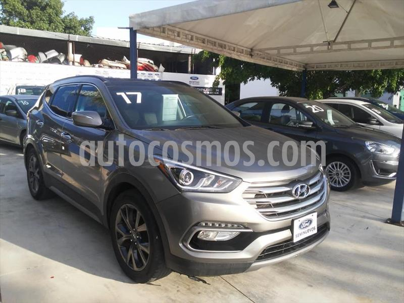 Hyundai Santa Fe SPORT 2.0T usado (2017) color Gris precio $317,000