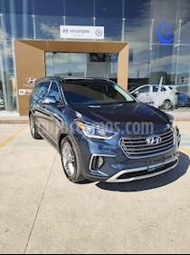 Hyundai Santa Fe V6 Limited Tech usado (2018) color Azul precio $460,000