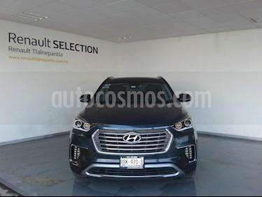 Hyundai Santa Fe V6 Limited Tech usado (2018) color Azul precio $499,000