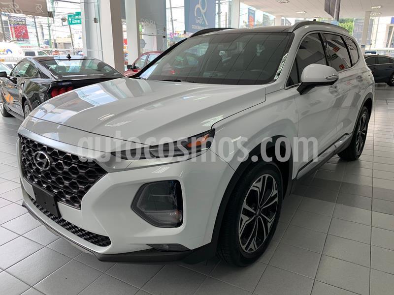 Hyundai Santa Fe V6 Limited Tech usado (2020) color Blanco precio $640,000