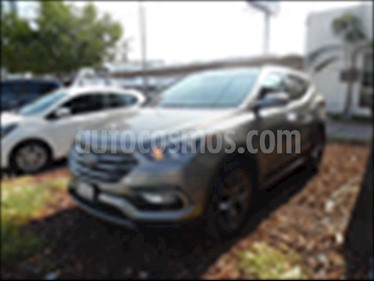 Hyundai Santa Fe Sport 2.0L Turbo usado (2018) color Gris precio $425,000