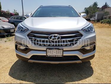 Foto venta Auto usado Hyundai Santa Fe Sport 2.0L Turbo (2018) color Plata precio $449,000