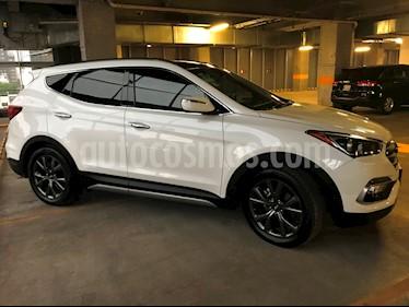 Foto Hyundai Santa Fe Sport 2.0L Turbo usado (2017) color Blanco precio $420,000