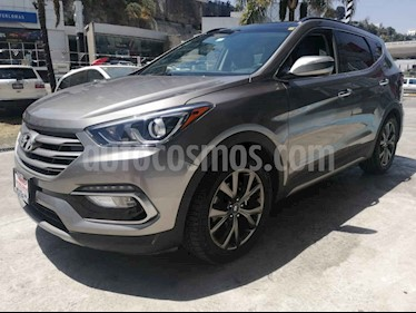 Foto venta Auto usado Hyundai Santa Fe Sport 2.0L (2017) color Gris precio $399,900