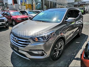 Foto venta Auto usado Hyundai Santa Fe Sport 2.0L (2017) color Gris precio $415,000