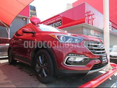 Foto venta Auto usado Hyundai Santa Fe Sport 2.0L (2017) color Rojo precio $425,000