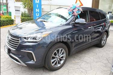 Foto venta Auto usado Hyundai Santa Fe V6 GLS Premium (2019) color Azul precio $559,900