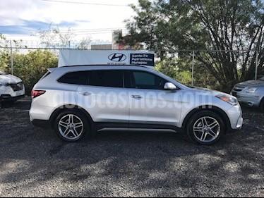 Foto venta Auto usado Hyundai Santa Fe V6 GLS Premium (2018) color Plata precio $529,000