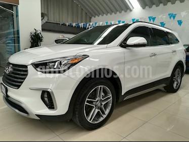 Foto venta Auto Seminuevo Hyundai Santa Fe V6 Limited Tech (2018) color Blanco precio $546,000