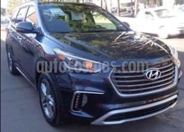 Hyundai Santa Fe V6 Limited Tech usado (2018) color Azul precio $538,000