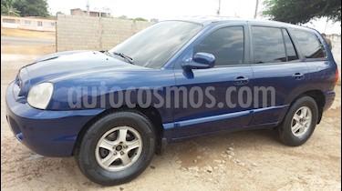 Hyundai Santa Fe GLS Auto. 4x4 usado (2001) color Azul precio u$s2.100