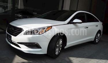 Foto venta Auto usado Hyundai Sonata 5p Limited L4/2.4 Aut Nave (2017) color Blanco precio $345,000