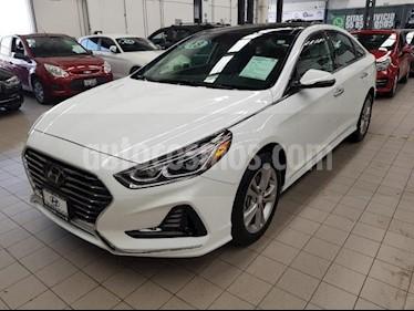 Foto venta Auto usado Hyundai Sonata 5p Limited L4/2.4 Aut Nave (2018) color Blanco precio $355,000