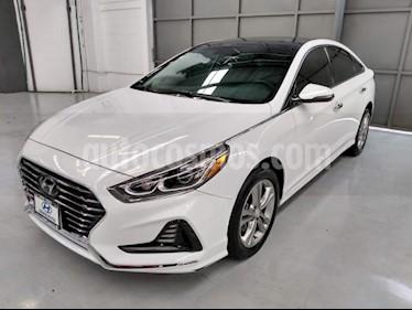 Foto Hyundai Sonata 5p Limited L4/2.4 Aut Nave usado (2018) color Blanco precio $395,000