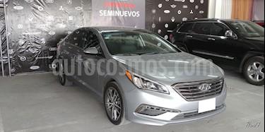 Foto venta Auto usado Hyundai Sonata 5p Limited L4/2.4 Aut Nave (2016) color Gris precio $297,000