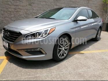 Foto venta Auto usado Hyundai Sonata 5p Limited L4/2.4 Aut Nave (2016) color Gris precio $260,000
