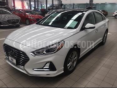 Foto venta Auto usado Hyundai Sonata 5p Limited L4/2.4 Aut Nave (2018) color Blanco precio $370,000