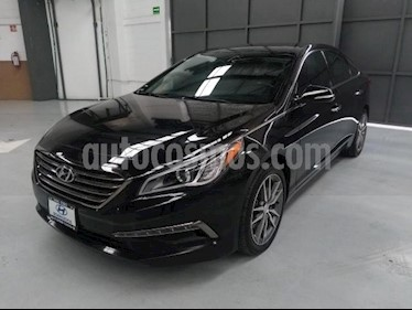 Foto venta Auto usado Hyundai Sonata 5p Limited L4/2.4 Aut (2015) color Negro precio $220,000