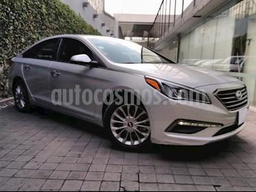 Foto venta Auto usado Hyundai Sonata 5p Premium L4/2.4 Aut (2016) color Amarillo precio $239,000