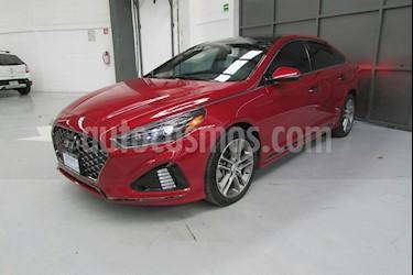 Foto venta Auto usado Hyundai Sonata 5p Sport L4/2.0/T Aut (2018) color Rojo precio $400,000