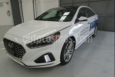 Foto venta Auto usado Hyundai Sonata 5p Sport L4/2.0/T Aut (2018) color Blanco precio $460,000