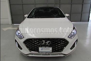 Foto venta Auto usado Hyundai Sonata 5p Sport L4/2.0/T Aut (2018) color Blanco precio $458,600