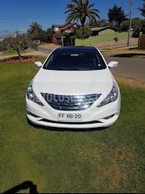 Hyundai Sonata GLS 2.4 Aut Techo Full usado (2013) color Blanco precio $8.500.000
