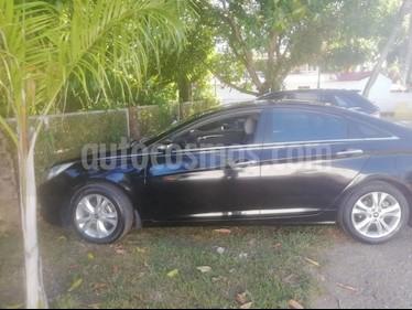 Hyundai Sonata 2.4L Aut usado (2011) color Negro precio $37.800.000