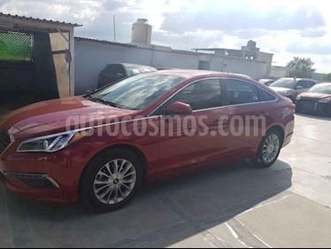 Foto venta Auto usado Hyundai Sonata GLS (2015) color Rojo precio $204,900