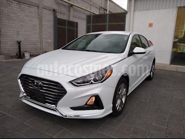 Foto venta Auto usado Hyundai Sonata GLS (2018) color Blanco precio $332,000