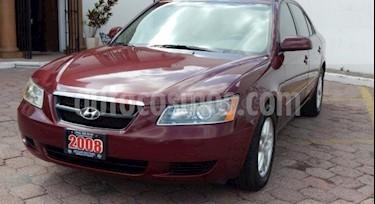 Foto venta Auto usado Hyundai Sonata GLS (2008) color Rojo precio $97,000