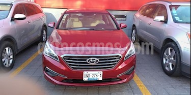 Foto venta Auto usado Hyundai Sonata GLS (2015) color Rojo precio $195,000