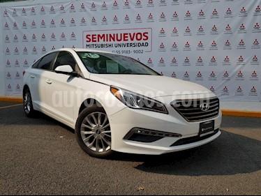 Foto venta Auto usado Hyundai Sonata GLS (2015) color Blanco precio $215,000